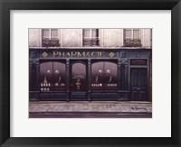 Pharmacie Framed Print