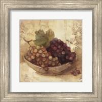 Framed Sunlit Grapes