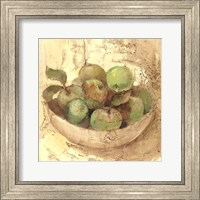 Framed Sunlit Apples