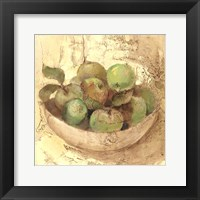 Sunlit Apples Framed Print
