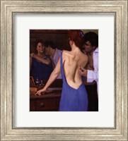 Framed Blue Passion