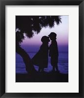 Under the Starlight Framed Print