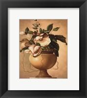 Golden Blossoms II Framed Print