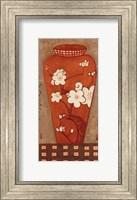 Framed Asian Vase I