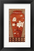 Framed Asian Vase I