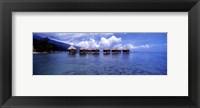 Framed Tahitian Lagoon