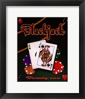 Framed Blackjack