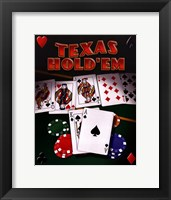 Framed Texas Hold 'Em