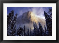 Framed Clearing Storm, El Capitan