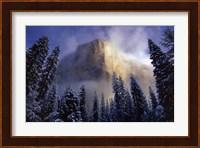 Framed Clearing Storm, El Capitan