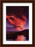 Framed Owens River, Eastern Sierra
