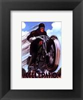 Acceleration Framed Print