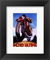 Framed Moto Ultima