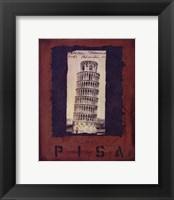 Framed Pisa