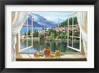 Framed Lago Di Fiori