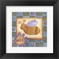 Framed Bebe' Bee