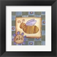 Bebe' Bee Framed Print