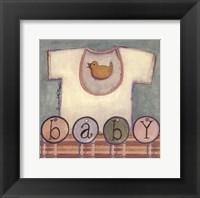 Baby T-Shirt Framed Print