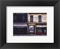 Framed La Grille