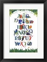 Framed Safari Alphabet
