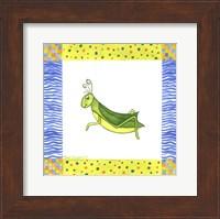Framed George Grasshopper