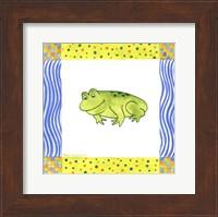 Framed Freddie Frog