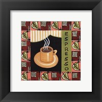 Coffee-Espresso Framed Print