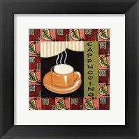 Coffee-Cappuccino Framed Print