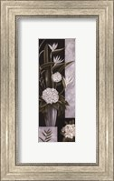 Framed Black and White Centerpiece I