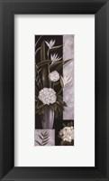 Framed Black and White Centerpiece I