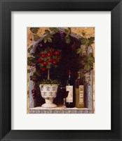 Framed Olive Oil and Wine Arch II