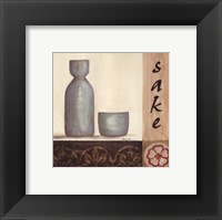 Framed Sake
