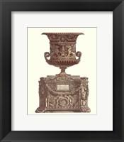 Framed Vaso Antico I