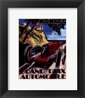 Monaco Grand Prix Framed Print