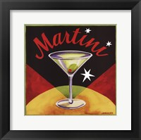 Framed Martini