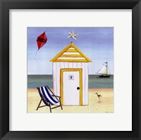 Beach House 2 Framed Print