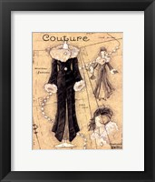 Couture IV Framed Print