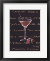 Chocolate Martini Framed Print