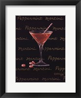 Framed Peppermint Martini