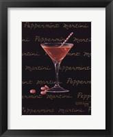 Peppermint Martini Framed Print