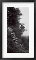 Framed Acadian Lake