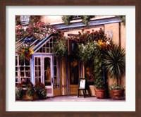 Framed Garden Cafe