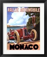 Framed Monaco Rallye