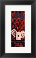 Texas Hold'em I Framed Print