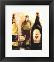 Glass Of White Framed Print