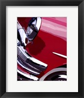 Tail Fins And Two Tones I Framed Print