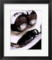 Tail Fins And Two Tones IV Framed Print