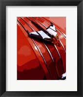 Tail Fins And Two Tones V Framed Print