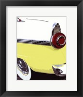 Tail Fins And Two Tones VI Framed Print
