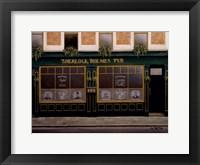 Framed Sherlock Holmes Pub